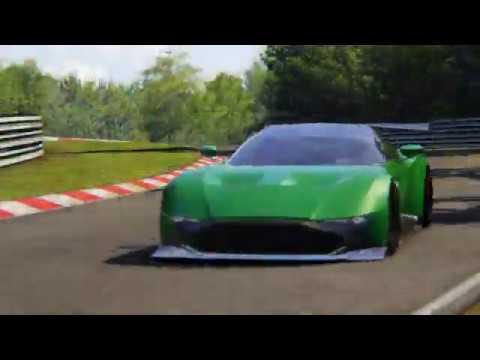 Aston Martin Vulcan Funlap Hotlap Around The Nordschleife Assetto Corsa Youtube
