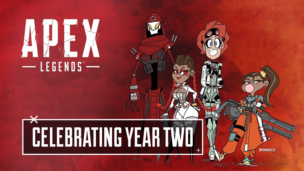Apex Legends Celebrating Two Years