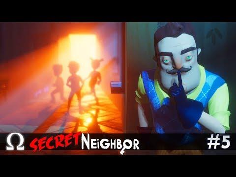 SECRET NEIGHBOR HALLOWEEN UPDATE! | Secret Neighbor #5 Multiplayer W/ Delirious, Ze, & More!