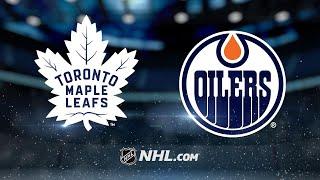 Maple Leafs outlast Oilers, 6-4