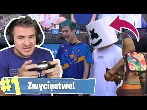 Wielki charytatywny turniej FORTNITE !!! Ninja, Izak, Myth, Friz !!!
