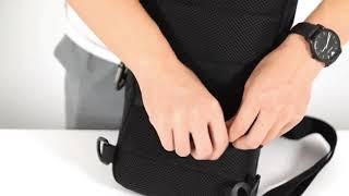 남자 메신저백 USB포켓 슬링백 여행가방 크로스백