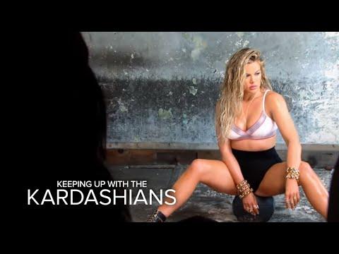 KUWTK   Khloé Kardashian Strips Down for Sexy
