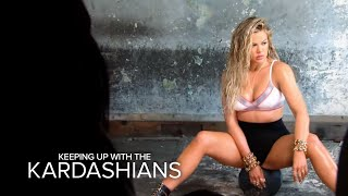 "Khloe Kardashian Strips Down for Sexy ""Complex"" Shoot 