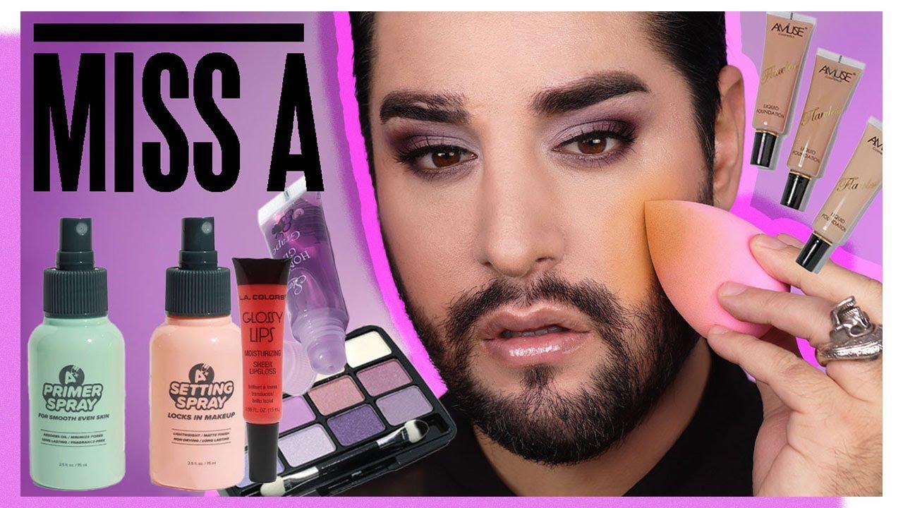 Full Face Of SHOP MISS A ! #Makeup