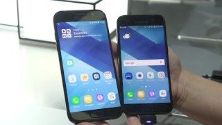 Samsung presenta su familia de teléfonos A3, A5 y A7