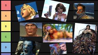 Especial 20 ANIVERSARIO de FINAL FANTASY X - Tier list personajes