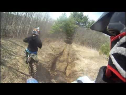 2013 Newtonville Ontario Trails KX 250 And YZ 250