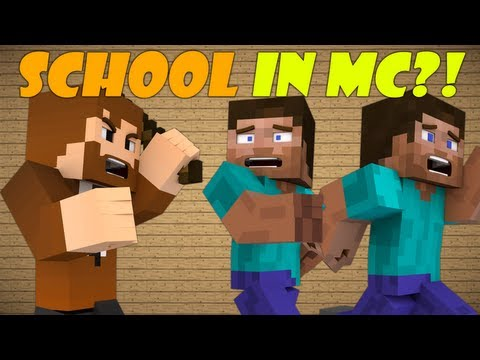 Thumbnail: How A School Would Be In Minecraft