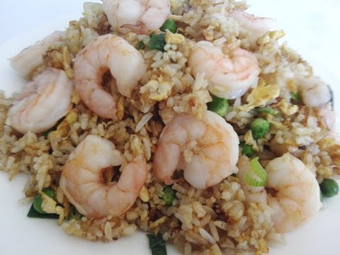 How to make king prawn fried rice youtube how to make king prawn fried rice ccuart Images