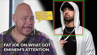 Fat Joe Explains How Eminem Got on His New Album, Tracklist Revealed & Song Features Mary J. Blige