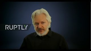 REFEED: Assange last video before communications cut at Ecuadorian Embassy in London