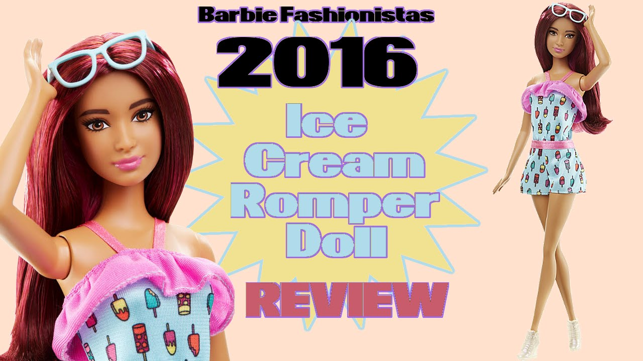 701cfc67db2 Ice Cream Romper Barbie Fashionista Review