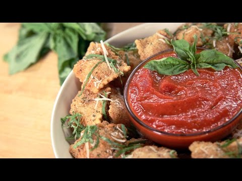 Olive Garden's Toasted Ravioli Recipe | Get The Dish