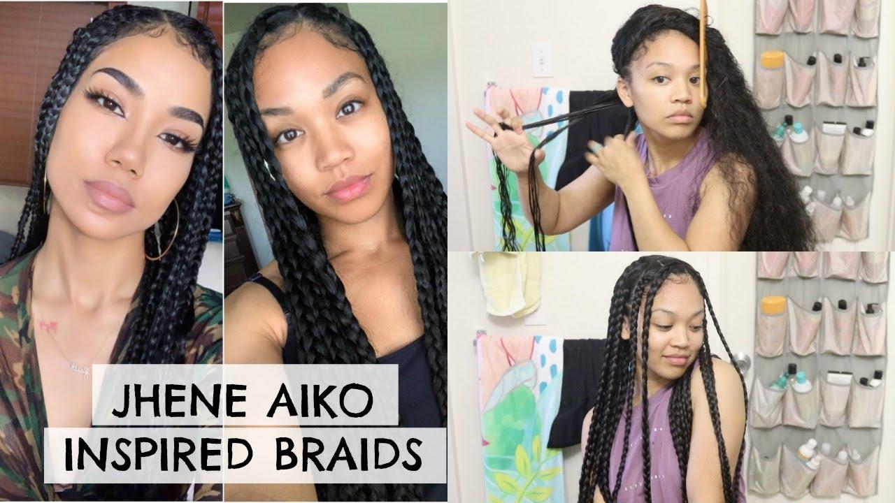 Jhene Aiko Inspired Hairstyle