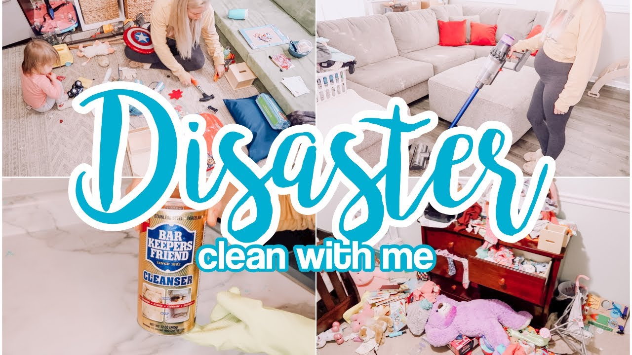DISASTER CLEAN WITH ME 2021 // SPEED CLEANING MOTIVATION