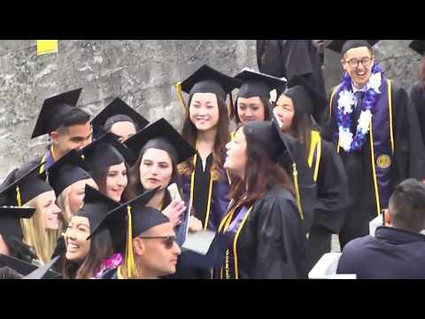 Berkeley-Haas Undergraduate Commencement 2017