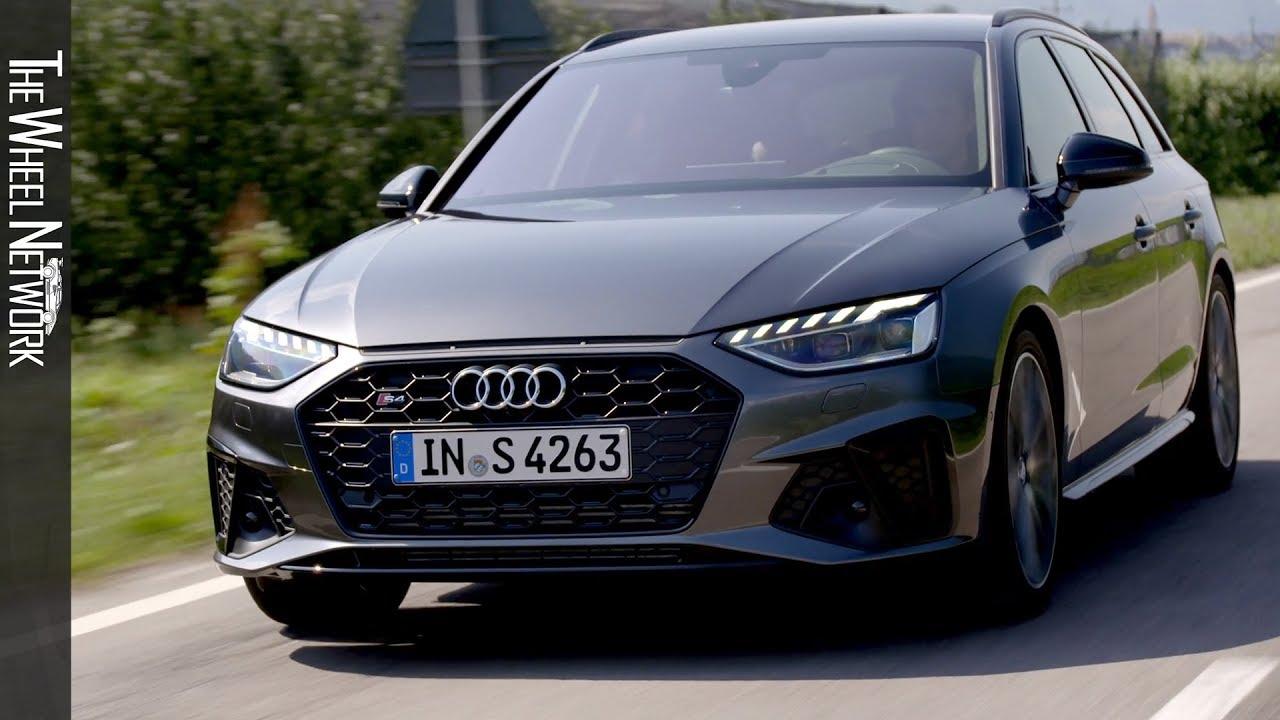 2020 Audi S4 Avant Tdi Daytona Grey Driving Interior Exterior Youtube