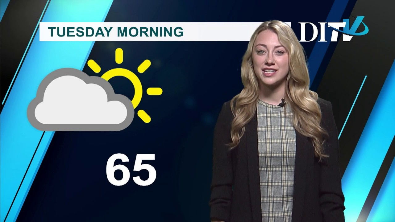 DITV Weather: Tuesday April 9, 2019 - YouTube