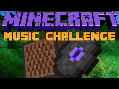 Dansk Minecraft - MUSIC CHALLENGE!