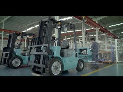 Maximal forklift video from Xiamen Runtx co.