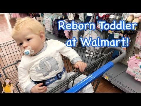 Reborn Toddler Max Shopping at Walmart! |...