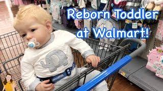 Reborn Toddler Max Shopping at Walmart! | Kelli Maple