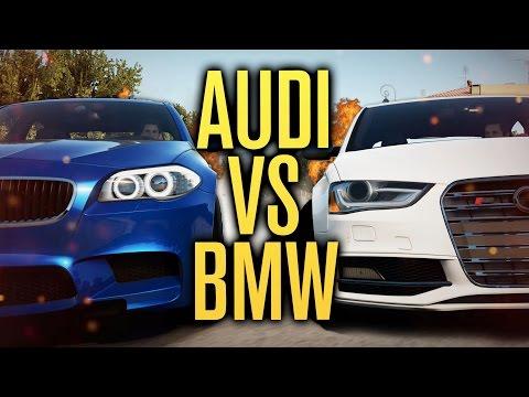 AUDI VS BMW CHALLENGE | Forza Horizon 2 w/ The Nobeds