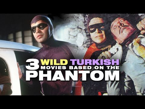 "3 Wild Turkish Movies Based On ""The Phantom"" [Kızıl Maske] - Deja View"