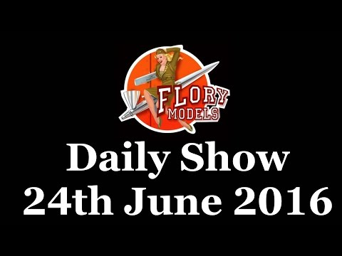 Flory Models Daily Show 24th June 2016