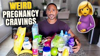 WEIRD food combos   PREGNANCY CRAVINGS   Alonzo Lerone