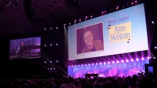 Full Alan Menken Disney Songbook concert performance at 2013 D23 Expo
