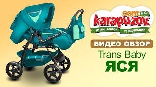 Детская коляска трансформер Яся, Trans Baby (Транс беби)