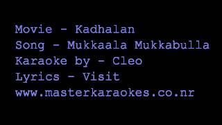 Karaoke Mukaala Mukabulla (Kadhalan)