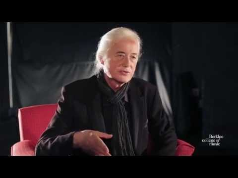 Jimmy Page, Exclusive Interview with Berklee College of Music