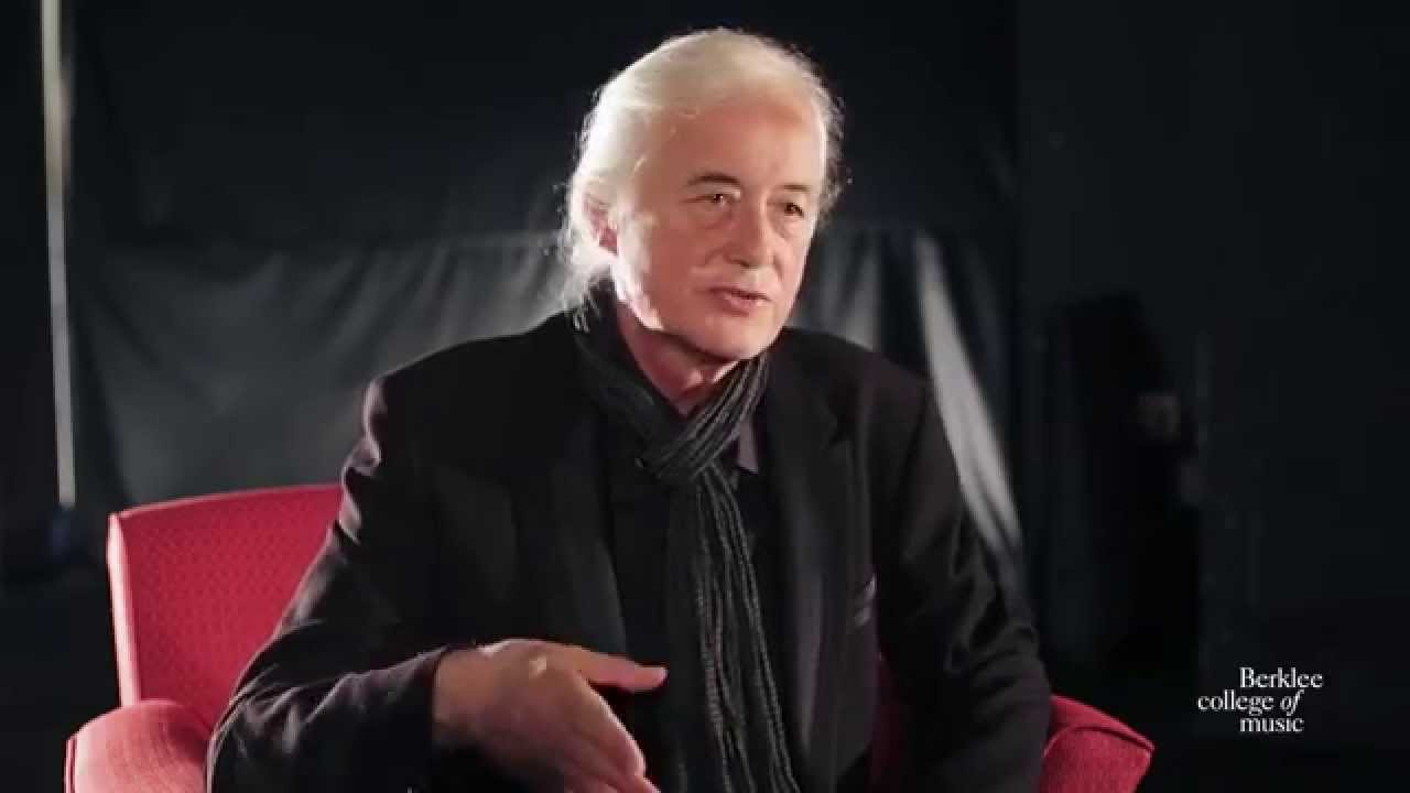 Jimmy Page, Exclusive Interview with Berklee College of ...