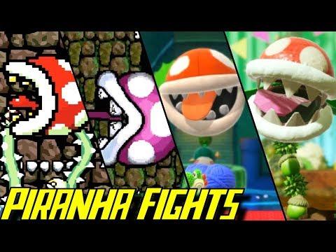Evolution of Piranha Plant Battles in Yoshi Games (1993-2019) |