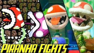 Evolution of Piranha Plant Battles in Yoshi Games (1993-2019)