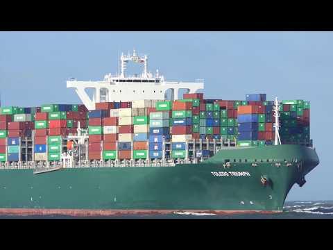 Shipspotting Rotterdam 2020 - Rough Sea #198