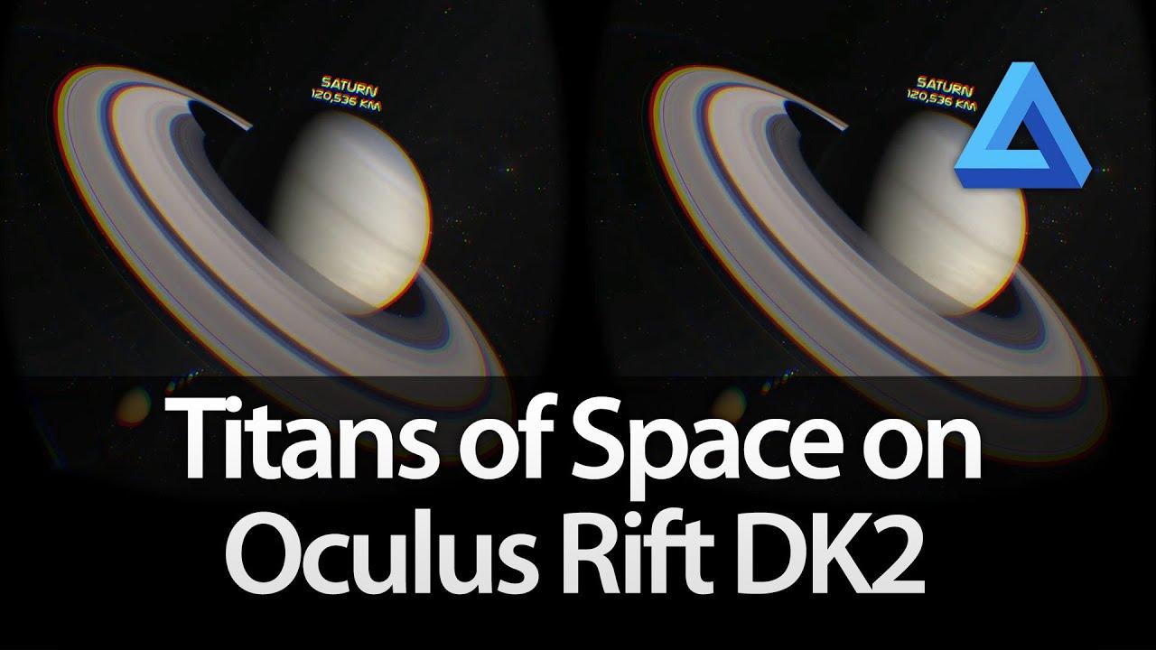 Titans of Space on Oculus Rift DK2