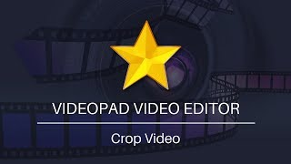 VideoPad Video Editing Tut๐rial   How to Crop Video