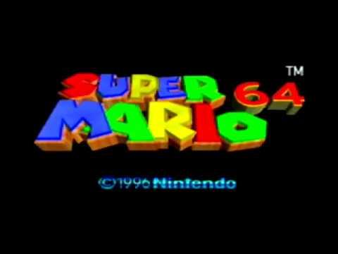 Official Super Mario 64 Startup
