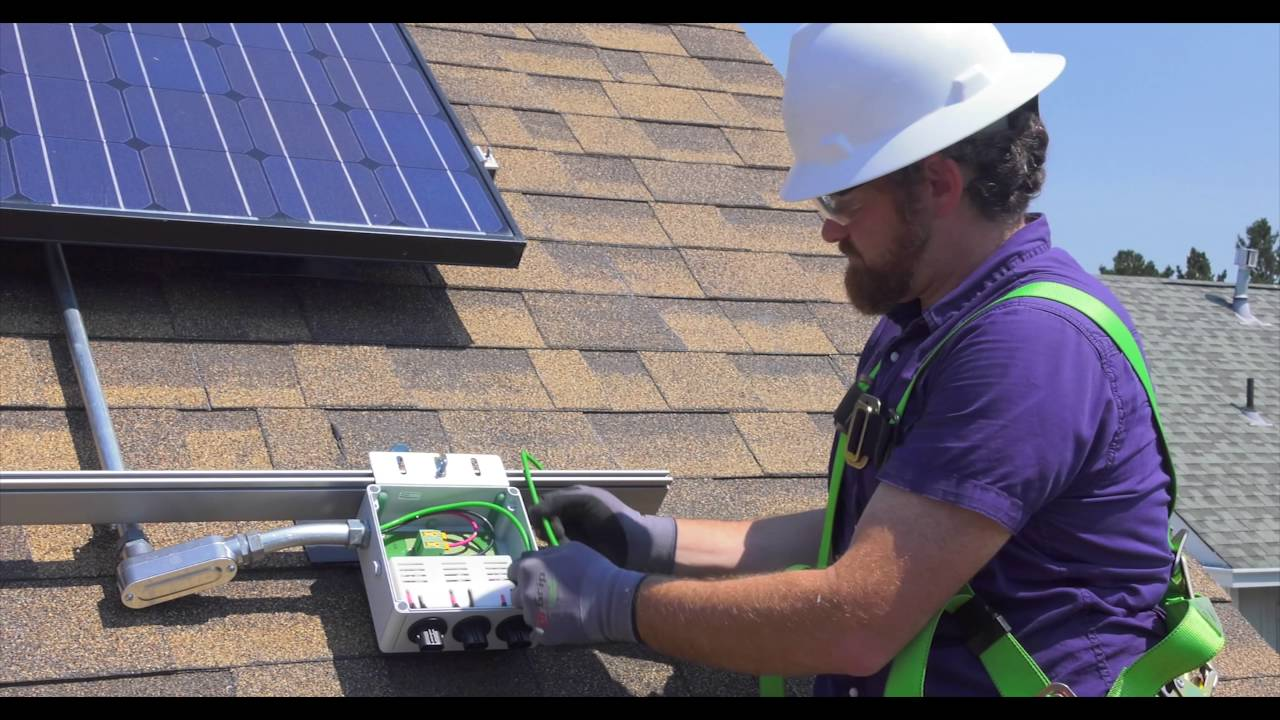 AC Module Installation - Enphase Energy - 2016