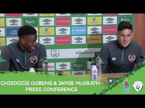PRESS CONFERENCE | Chiedozie Ogbene & Jamie McGrath