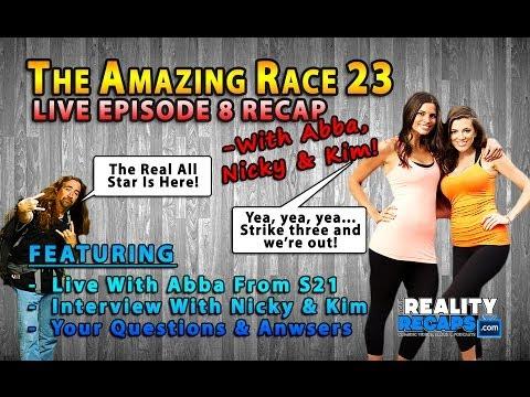 The Amazing Race 23 Recap With Abba, Nicole Getz & Kim DeJesus EP8