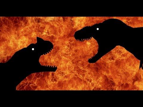 Jurassic Rage!!! Tarbosaurus vs Ceratosaurus