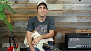 How I Get My Tone - Guitars Pickups Pedals and Amps - Guitar Lesson And Advice