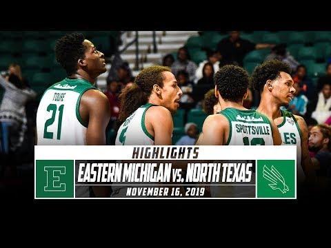 Eastern Michigan Vs. North Texas Highlights (2019-20)| Stadium