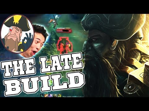 Tobias Fate - THE LATE GANGPLANK BUILD! QUALITY HYPE | League of Legends