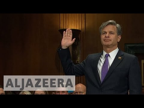 US senate confirms Christopher Wray as new FBI director